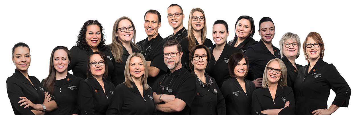 Équipe de la clinique dentaire